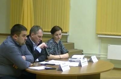 Встреча главы управы Евгения Силкина с жителями