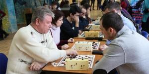 """Соревнования по шашкам в ГБУ """"Высота"""""""