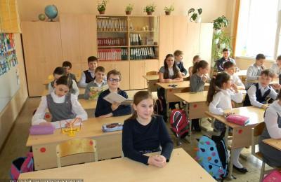 Школьники района