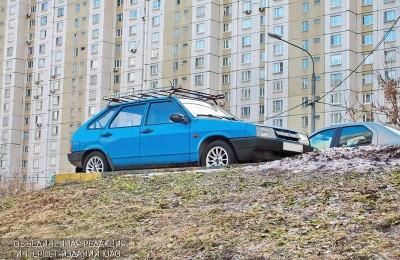 Брошенный автомобиль в ЮАО