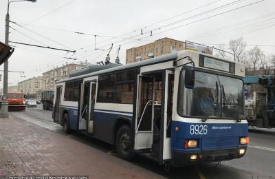 Троллейбус в ЮАО