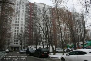 Улица Генерала Белова в районе Орехово-Борисово Северное