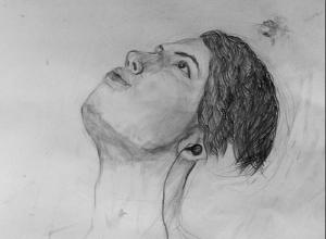 Работа художника из школы №548