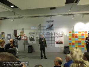 Пресс-тур на тему «Открытие первой в истории выставки социальной рекламы «За безопасный город»