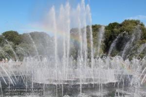 Фонтан в Царицынском парке