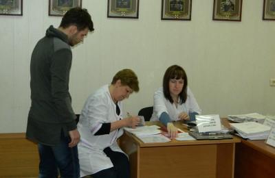 Призывная кампания в районе Орехово-Борисово Северное