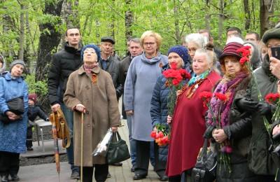 Участники торжественного открытия мемориала «Солдату слава!»