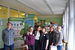 Участники экологической акции