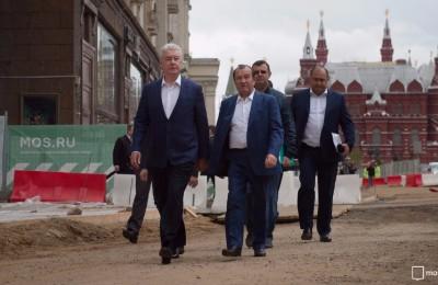 Мэр Москвы Сергей Собянин рассказал о благоустройстве по программе «Моя улица»