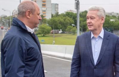 Мэр Москвы Сергей Собянин посмотрел строительные работы на улице Сретенка