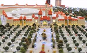 Модель парка «Остров мечты»