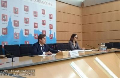 Пресс-конференция с руководителем государственного природоохранного бюджетного учреждения Москвы «Мосприрода»