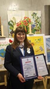 Победительница Александра Игнатьева