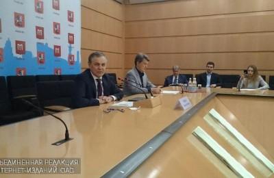 Пресс-конференция руководителя Департамента развития новых территорий