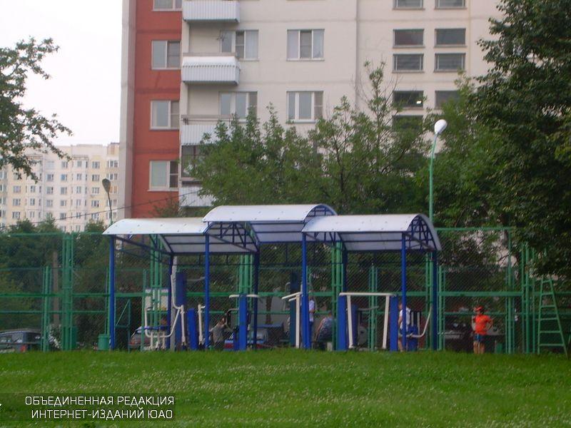 Спортивная площадка в Южном округе