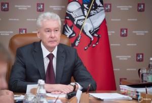 Мэр Москвы на заседании президиума правительства столицы