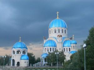 Храм в районе Орехово-Борсиово Северное