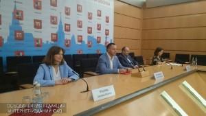 Пресс-конференция Александра Коноплянникова