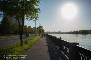 Набережная на юге Москвы