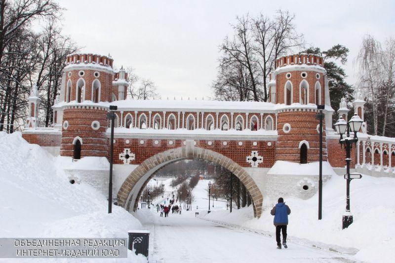 """Современное """"Царицыно"""" зимой"""
