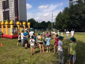 Спортивный праздник в районе Орехово-Борисово Северное