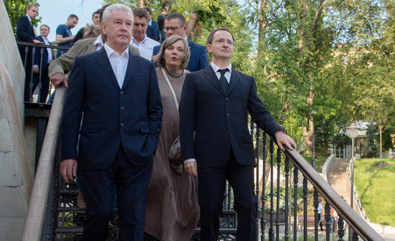 Мэр Москвы Сергей Собянин посетил новый парк технических видов спорта