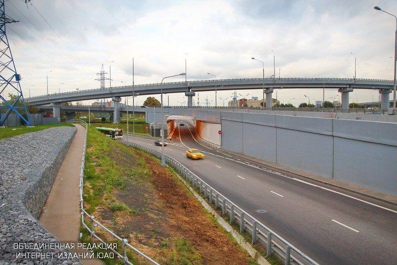 Мост на Каширском шоссе