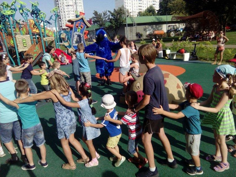 Спортивные старты в районе Орехово-Борисово Северное