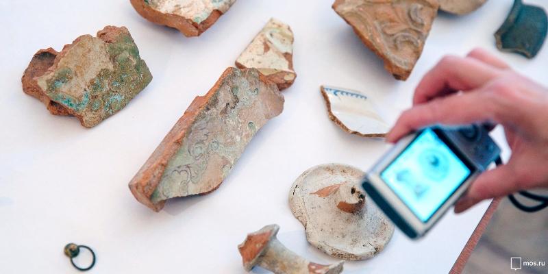 Артефакты, найденные при реализации программы «Моя улица»