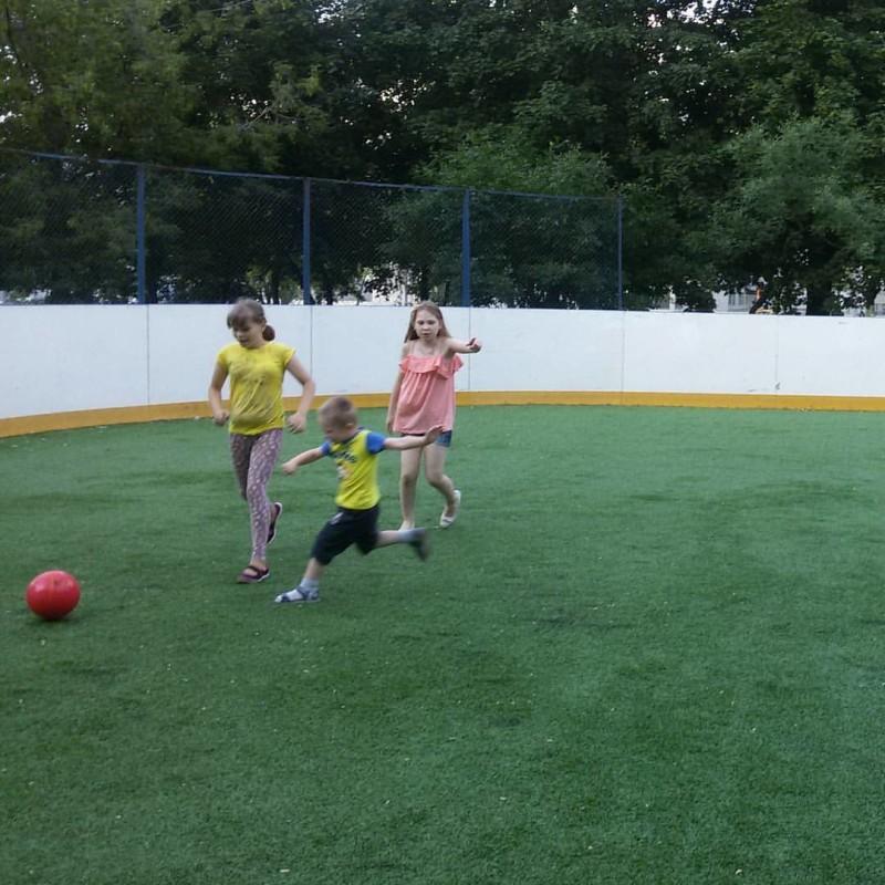 Спортивный праздник в районе Орехово-Борисов Северное