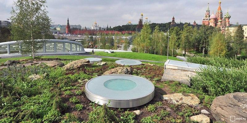 Парк «Зарядье» стал подарком москвичам в День 870-летия города