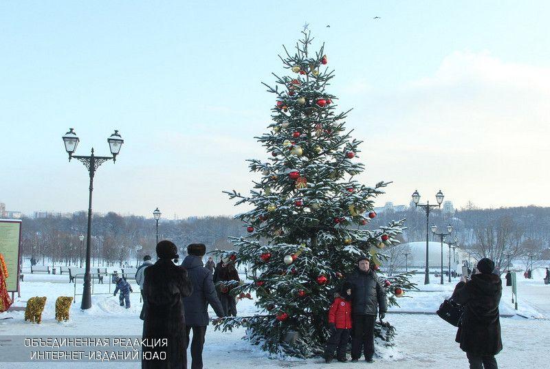 Рождество в районе Орехово-Борисово Северное