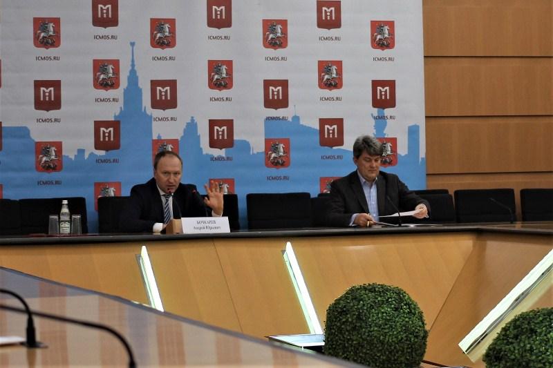 Пресс-конференция руководителя столичного Департамента строительства Андрея Бочкарева