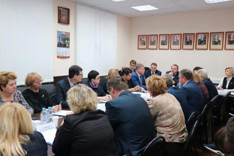 Заседание окружного Координационного Совета ЕР