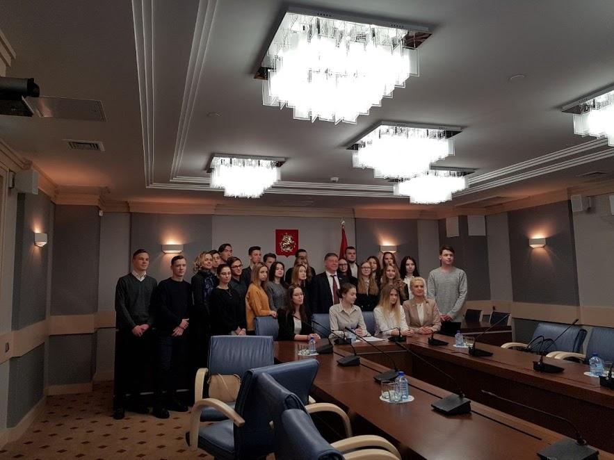 Школа 939 на экскурсии в Мосгордуме