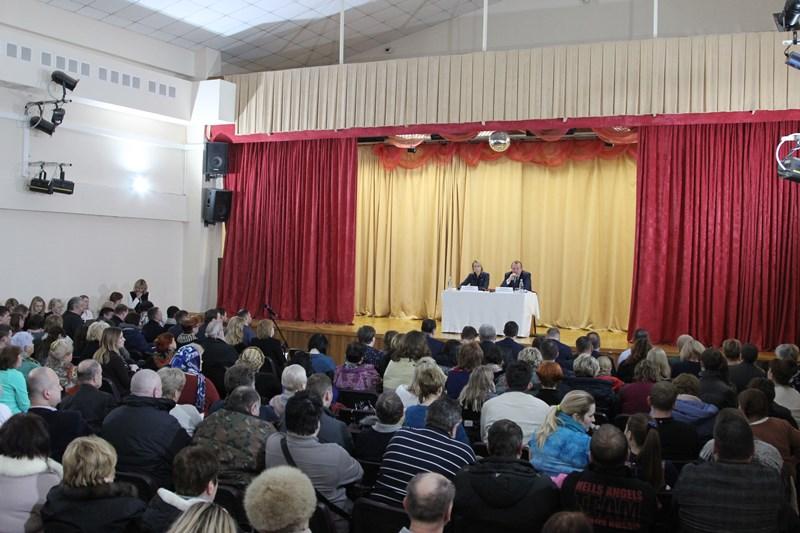 Встреча префекта Южного административного округа Алексея Челышева с жителями