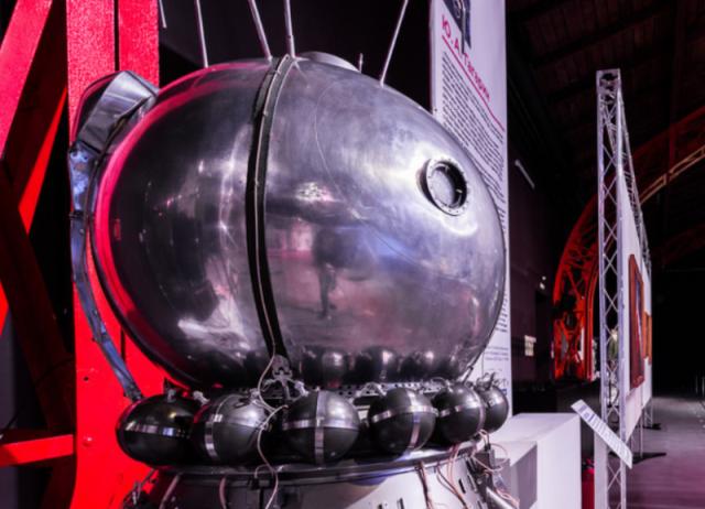Космический объект в Музее космонавтики