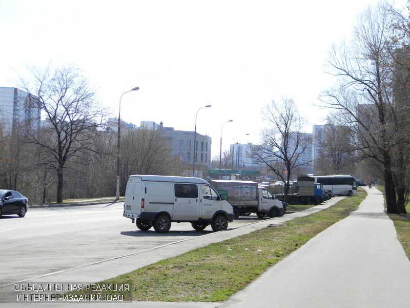 Парковка в районе Орехово-Борисово Северное
