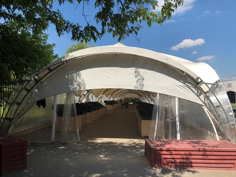 Ярмарка выходного дня в районе Орехово-Борисово Северное
