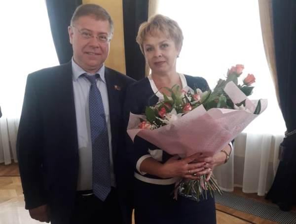 Людмила Сысоева и Степан Орлов