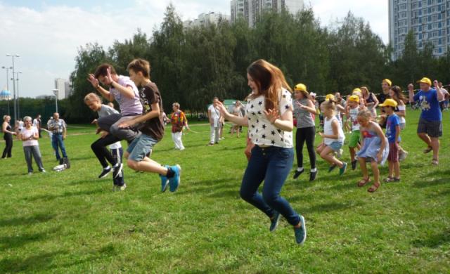 День семьи, любви и верности в парке на Борисовских прудах