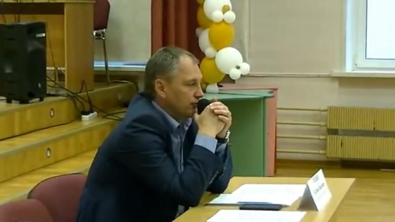 Глава управы Евгений Силкин