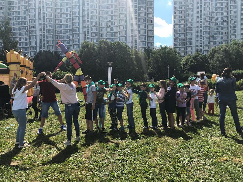 Дети из проекта «Московская смена»