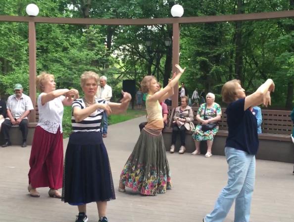 """Среда танца в """"Царицыне"""""""