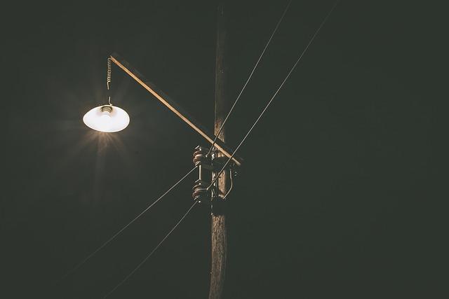 Новые фонари установят в районе