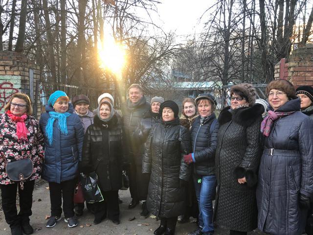 Встреча Степана Орлова с жителями района Орехово-Борисово Северное