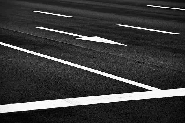 Дорожная разметка, дорога, пиксабай