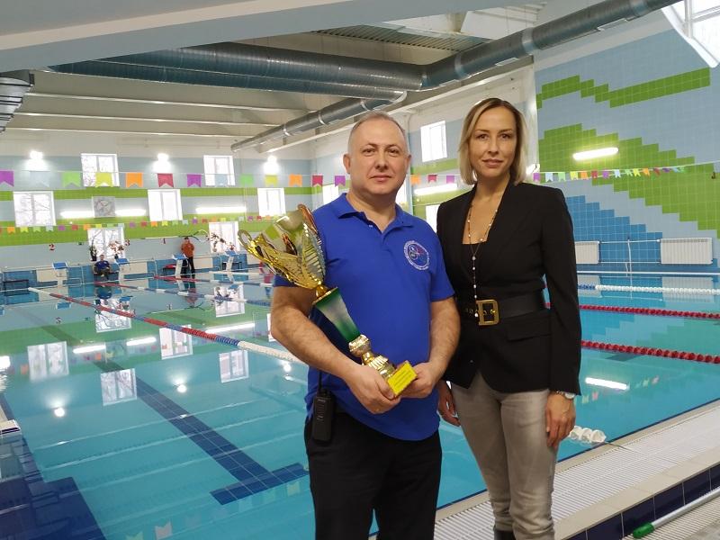 Ежегодные соревнования по плаванию среди детских групп в ФОКе «Братеево»