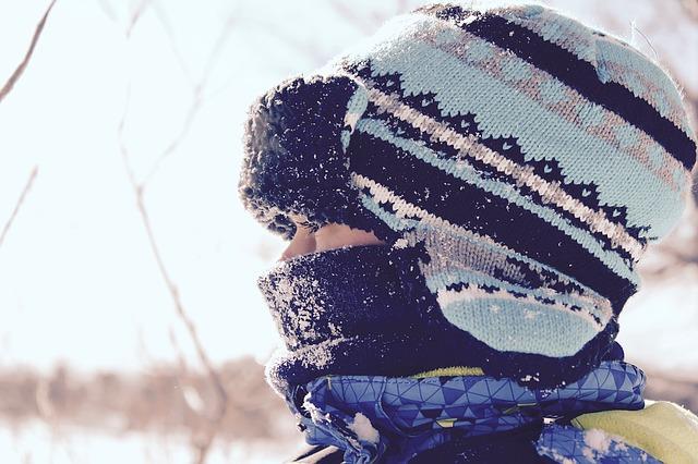 Юный лыжник