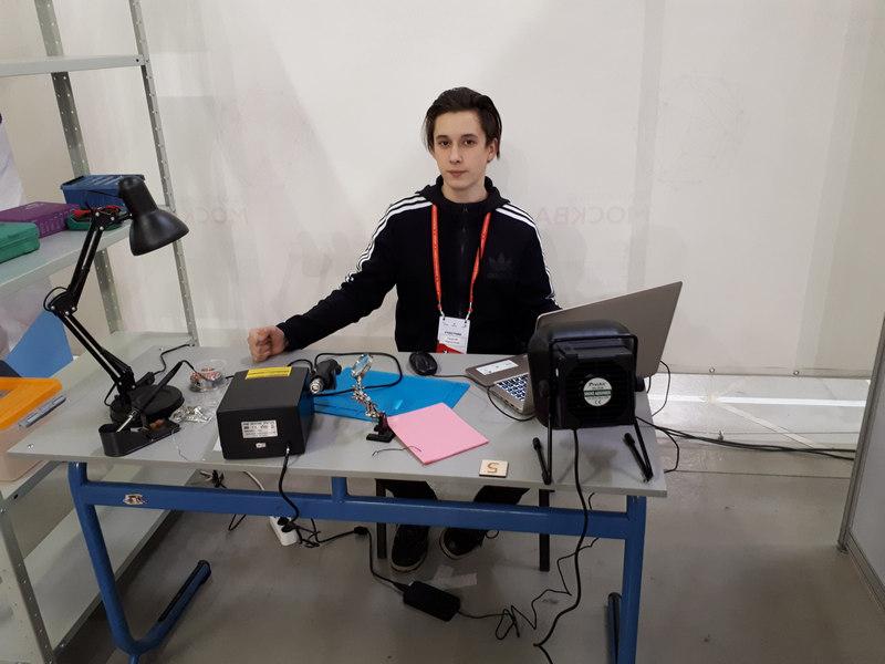 Георгий Чернушкин, кадет, школа № 878, WSR, WorldSkills Russia, беспилотные летательные аппараты
